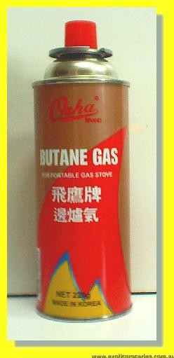 Butane Gas Cartridge for Portable Gas Stove