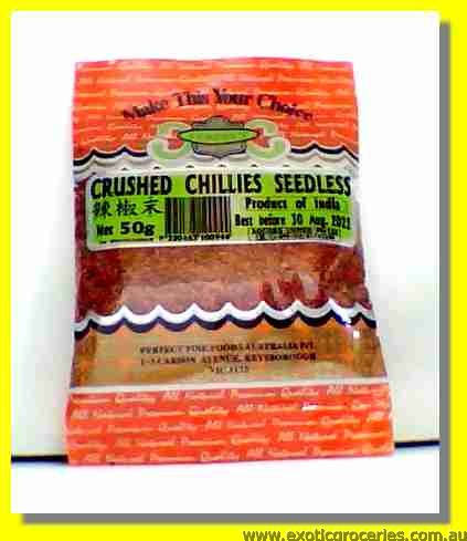 Crushed Chillies Seedless