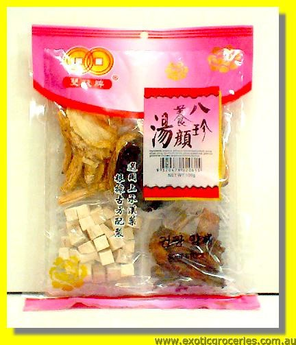 Chinese Soup Stock (Ba Zhen Soup Mix)