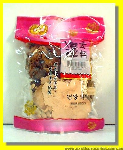 Chinese Traditional  Abstract Soup Stock (Herbal Soup Mix)