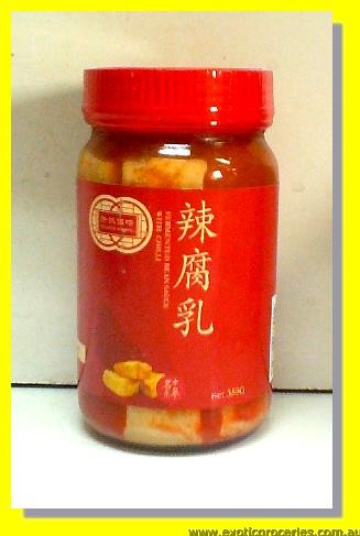 Fermented Bean Sauce with Chilli (Fermented Bean Curd)