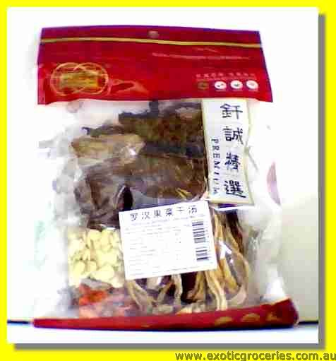 Lo Han Kuo & Dehydrated Cole Soup Mix