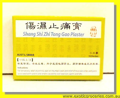 Cool Herbal Power Patches Shang Shi Zhi Tong Gao Plaster 10patch