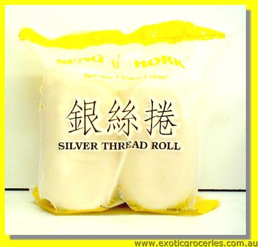 Frozen Silver Thread Roll 4pcs
