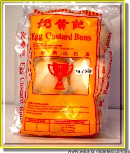 Egg Custard Buns