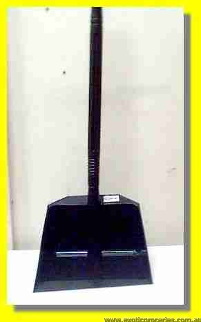 Plastic Dustpan with Long Handle
