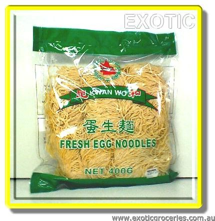 Fresh Egg Noodles Fine