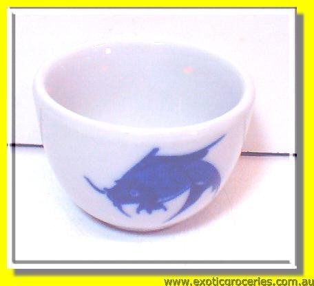Blue Fish Chinese Tea Cup