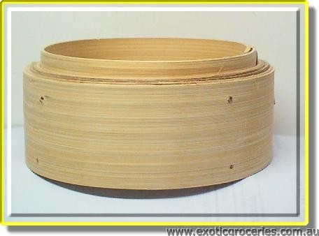 Bamboo Steamer Base 6in