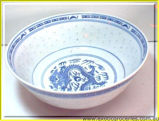 Rice Pattern Bowl 9""