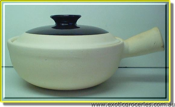 Clay Pot Single Handle 17cm
