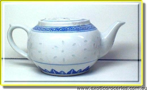 Rice Pattern Teapot #3 Short