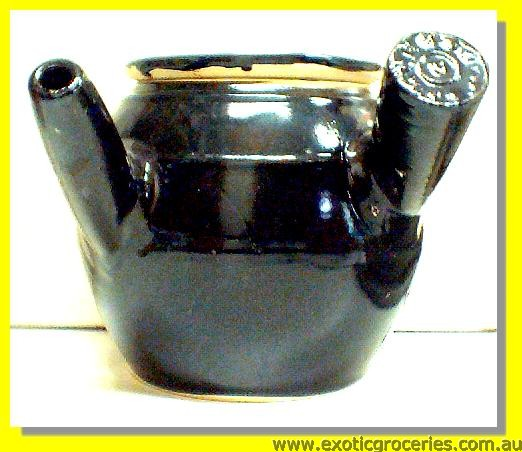 Black Medicine Pot Large 18cm