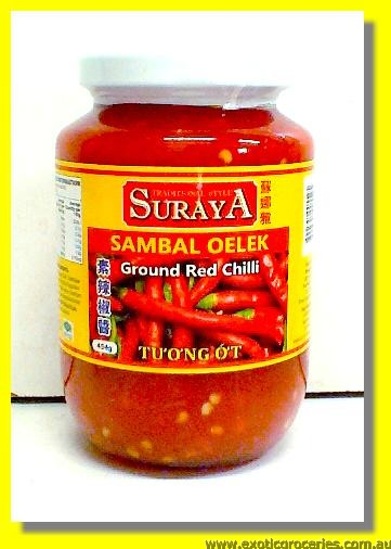 Sambal Oelek Ground Red Chilli