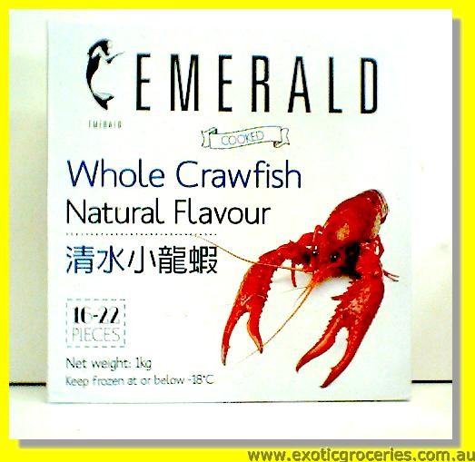 Frozen Cooked Whole Crawfish 16-22pcs