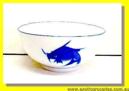 "Blue Fish Bowl 8"" JB-F13"