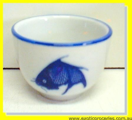 Blue Fish Tea Cup JB-F31