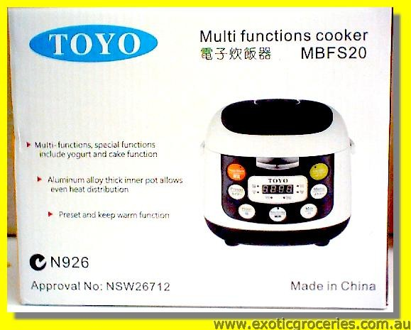 Multi Functions Cooker MBFS20 4cups