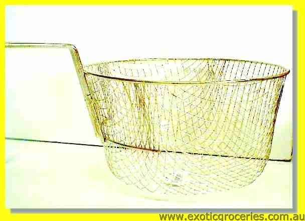 "French Fried Basket Wire Strainer 9"" E1023"