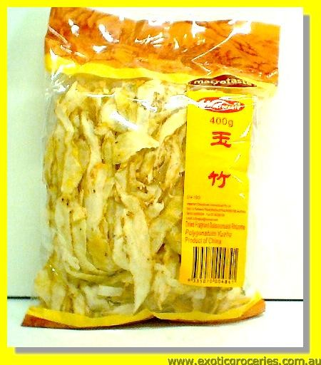 Dried Fragrant Solomonseal Rhizome