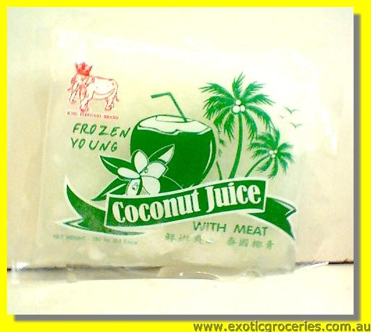 Frozen Coconut Juice with Meat (Bag)