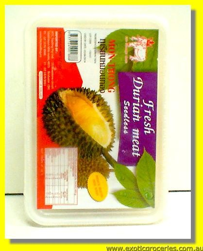Frozen Fresh Durian Meat Seedless