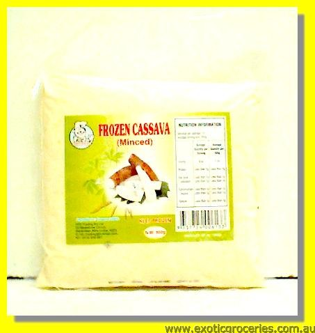 Frozen Minced Cassava