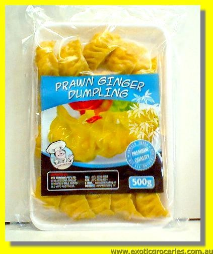 Frozen Shrimp Ginger Dumplings 20pcs