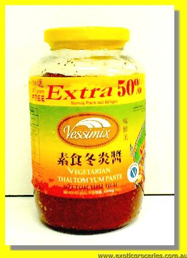 Vegetarian Thai Tom Yum Paste