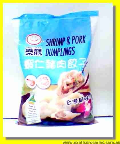 Frozen Shrimp & Pork Dumplings
