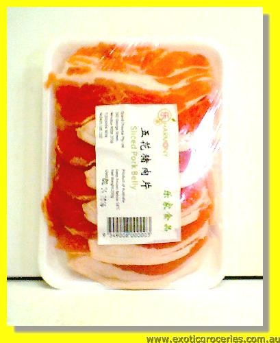 Frozen Sliced Pork Belly