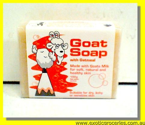 Goat Soap with Oatmeal