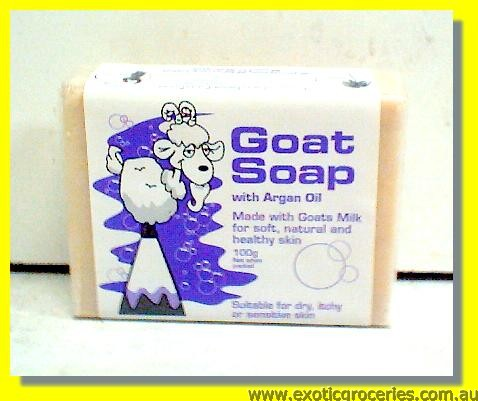 Goat Soap with Argan Oil