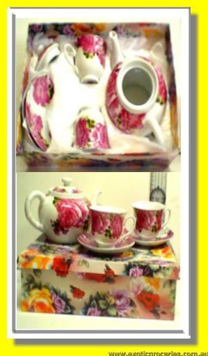 Hand Made Teapot Set 5Pcs
