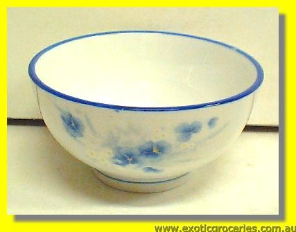 Blue Floral Bowl 4.5'' (HD101)