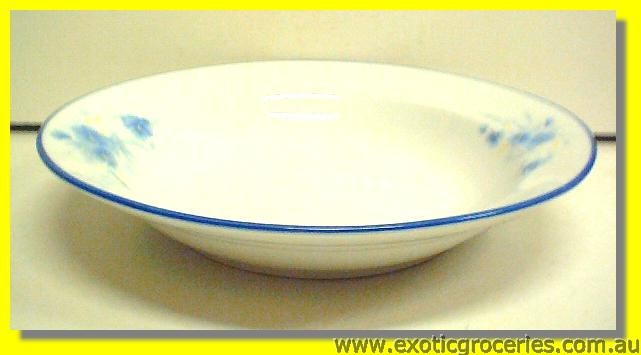 Blue Floral Dish 9''(HD124)