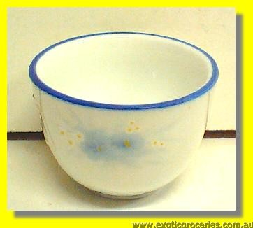Blue Floral Tea Cup 2.8'' (HD127)