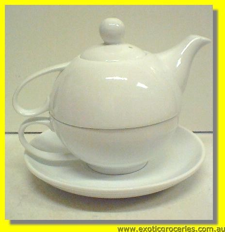 Teapot with cup set 3 pcs KH084(HD317)
