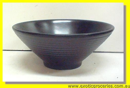 "Black Bowl 6.75"" EB007"