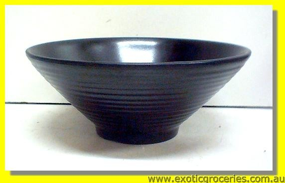 "Black Bowl 8"" EB008"