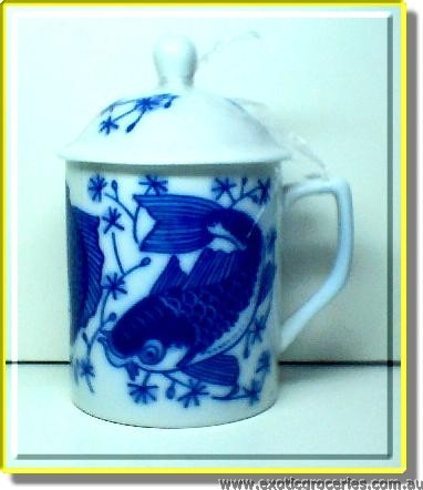 Blue Dragon Mug w/ Lid