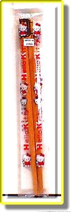 Wooden Chopsticks (Hello Kitty)