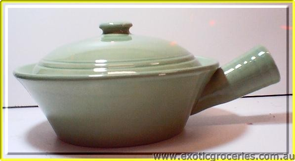 Green Pot w/ Handle ST050G