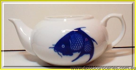 Blue Fish Teapot #1 JB-F06