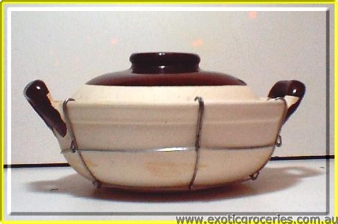 Clay Pot 2 Handles 22cm Wired