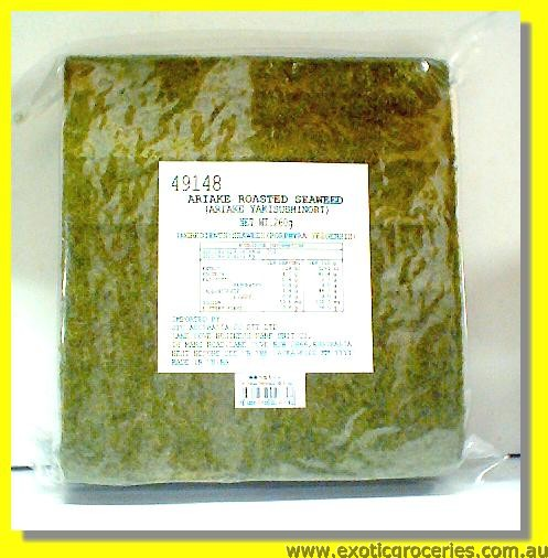 Roasted Seaweed 100 Sheets (Yaki Sushi Nori)