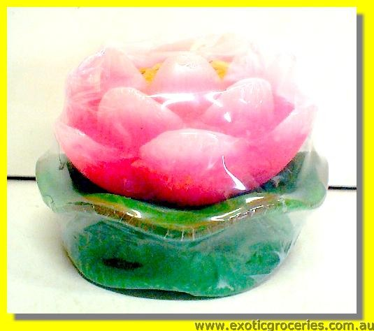 Lotus Flower Candle Small 8cm