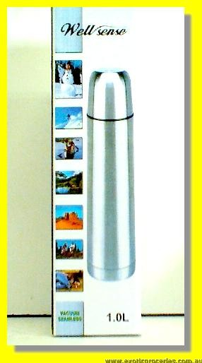 Vacuum Flask 1L (Travel Bottle For Hot & Cold)