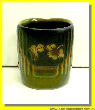 Japanese Style Green Square Tea Cup