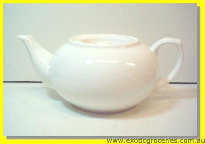 White Persimmon Teapot Large 1L M364